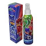 pj masks body spray/colonia fresca super pigiamini bambini 200 ml