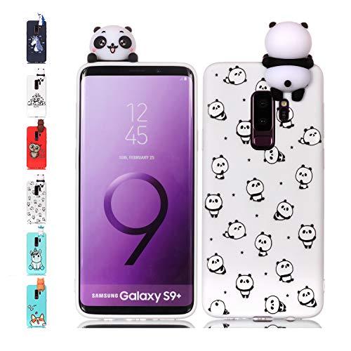 Universecase Cover Samsung Galaxy S7, Custodia Samsung Galaxy S7 3D Piccolo Panda Squishy Kawaii Toy Animal, Silicone Case Antiurto Anti-Graffio Bumper Protettiva Caso