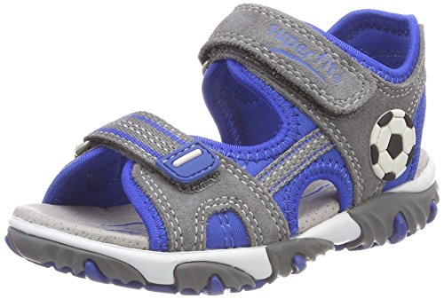 Superfit Jungen Mike 2 Sandalen, Grau (Smoke Multi), 32 EU