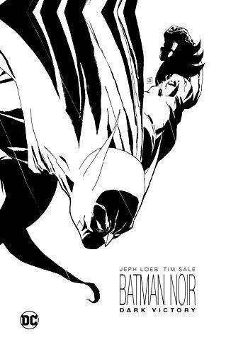 Batman Noir Dark Victory HC por Jeph Loeb