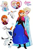 Unbekannt 6 tlg. Set _ Wandtattoo / Sticker -  Disney die Eiskönigin - Frozen  - Wands..