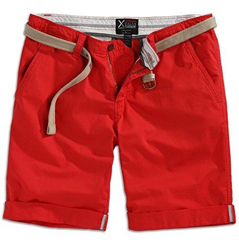 Surplus Herren Short Gr. S, Red - Red Surplus Chino Hose
