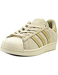 Adidas Originals Superstar Fashion Youth Clear Brown Leather Trainers