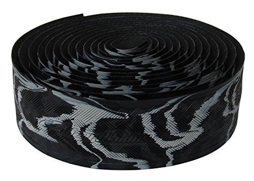 Lizard Skins li9700. BLK-Schleifenband Vorbau Fahrrad Unisex Erwachsene, schwarz, 3,2mm - Skins Lenkerband Lizard