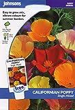 johnsons seeds - Pictorial Pack - Fiore - Papavero della California Single Mix - 500 Semi
