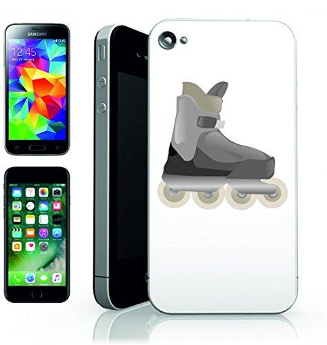 """Smartphone Case Apple IPhone 7 """"SKATE- INLINE- ROLLERBLADES- SKATEN- SPORT- FITNESS- BOOT- INLINE SKATING- ROLLERSKATING- SPAß- ERHOLUNG- """" Spass- Kult- Motiv Geschenkidee Ostern Weihnachten"""