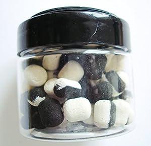 Zig Bites - Designed For Zig Rigs - Flavoured Buoyant Black/White Bait - 20g Tub by Copdock