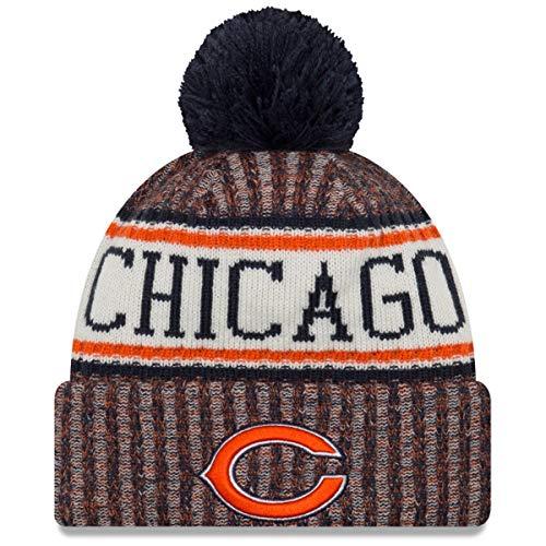 New Era - Chicago Bears Beanie - on Field 2018 Sport OTC Knit - Navy/Orange Chicago Bears Beanie on Field 2018 Sport OTC Knit - Einheitsgröße