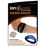 ionocore® Elbow Support Brace - Golf & Tennis Elbow Arm Strap - Lightweight and Adjustable with EVA Compression Pad - One-Size