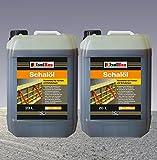 40 Liter Schalöl Professional Schaloel Trennmittel Betontrennmittel Schalungsöl Trennmittel für Formen und Schalungen Holz Metall Matrizenschalungen Mischerschutz