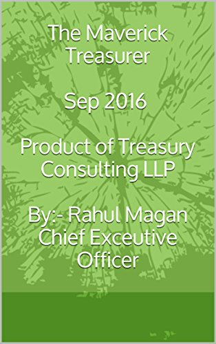 The Maverick Treasurer - Sep 2016 (English Edition)