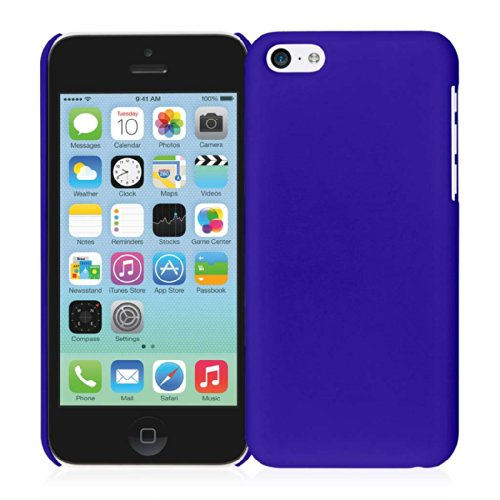 EMPIRE KLIX Slim Fit Hard Case für Apple iPhone 5 C _ P Soft Touch Royal Blue