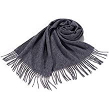 i+k Écharpe en cachemire et laine de mérinos - 100% laine Écharpe en 5dee00834dc