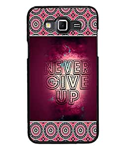 PrintDhaba Quote D-4158 Back Case Cover for SAMSUNG GALAXY GRAND 3 (Multi-Coloured)