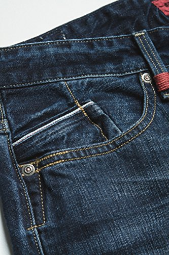 Replay Uomo Waitom Regular Slim Jeans, Blu Blu (Blau (Blue Denim))