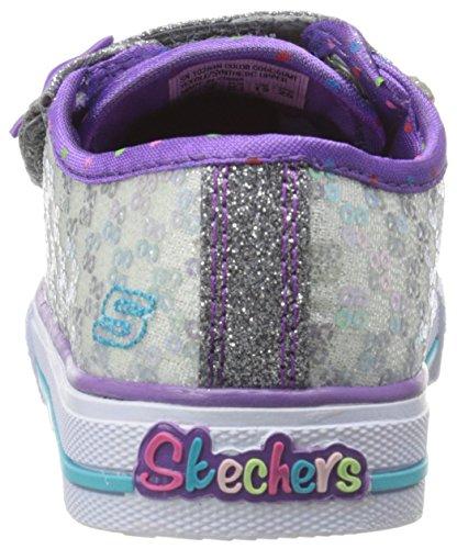 Skechers ShufflesSweet Steps Mädchen Sneakers Silber (GUMT)