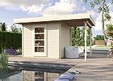 weka Designhaus wekaLine 172 A Gr.2, natur, 28 mm, ET, Anbau 150 cm