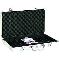 Lion Juegos y Regalos Europa 3015vacío Caja de Aluminio para 300fichas