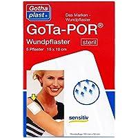 Gota-por Wundpflaster steril 100x150 mm 5 stk preisvergleich bei billige-tabletten.eu