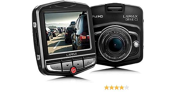 Lamax C3 Full Hd 1080p Autokamera Mit 140 Grad Kamera