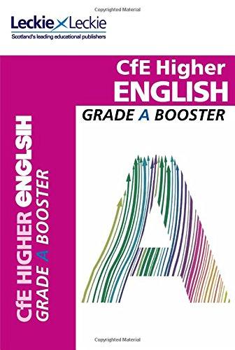 CfE Higher English Grade Booster (Grade Booster)