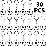 Portachiavi di Palla Sportivi per Ragazzi Ricompensa di Carnevale Scolastico, Filer per Regali Party Borsa (Calcio)