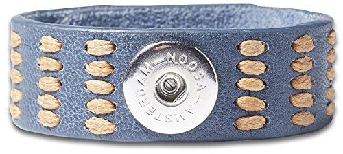 Denim-armband (NOOSA ORIGINAL Armband INDIGO LOVE LIFE jean Größe S)