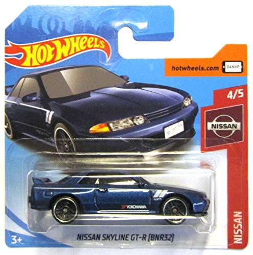 Hot Wheels FYB74 - Nissan Skyline GT-R R32 (BNR32) metallic blau (Nissan 4/5)