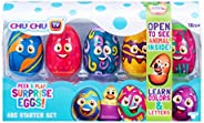Peek & Play Surprise Eggs by Chuchu TV: ABC Starter Set for 18 Month and A