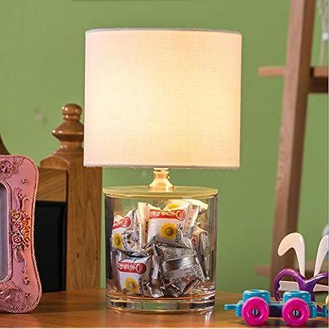 JUJJUN E14 bagagli decorativi Serbatoio lampada da