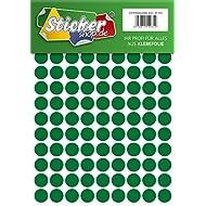 234 Klebepunkte, 20 mm, grün, aus PVC Folie, wetterfest, Markierungspunkte Kreise Punkte Aufkleber