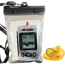 Lucky Digital FFW-718 - Sonar trova pesci, wireless, rimanda il profilo del fondale marino, live update, con custodia impermeabile
