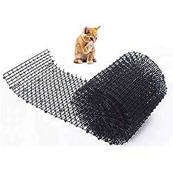 Tapis Scat pour Chat, Mur de clôture intérieur/extérieur, piquets pour Chien et Animal de Compagnie, protège Les Plantes dans Les Jardins, Voir Image, Taille Unique