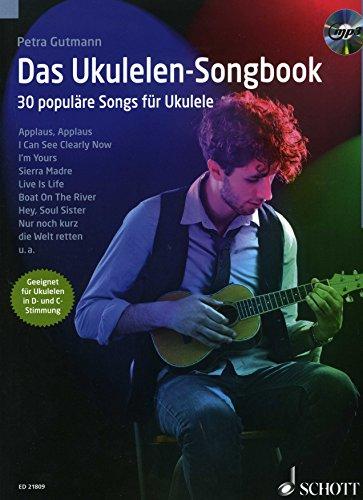 Preisvergleich Produktbild Das Ukulelen Songbook - arrangiert für Ukulele - mit CD [Noten / Sheetmusic] Komponist: Gutmann Petra