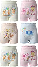 BodyCare Unisex Bloomer (Pack of 6, Assorted Colour)
