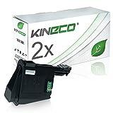 2 Toner kompatibel zu TK-1115 für Kyocera FS-1041, FS-1220MFP, FS-1320MFP - 1T02M50NL0 - Schwarz je 1.600 Seiten