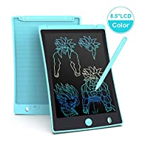 Arolun LCD Writing Tablet, 8.5 Inch Colorful Screen Digital eWriter Electronic Graphics Tablet Portable Writing Board Handwriting Doodle Drawing Pad for Kids Adult Home School Office (Light blue)