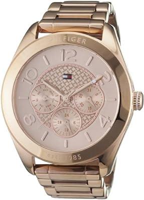 Reloj Tommy Hilfiger 1781204 de cuarzo para mujer con correa de acero inoxidable, color rosa de Tommy Hilfiger