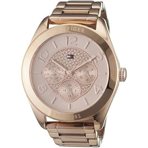 Tommy Hilfiger 1781204 - Reloj analógico de cuarzo para mujer con correa de acero inoxidable, color