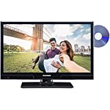 Telefunken XH20A101D 51 cm (20 Zoll) Fernseher (HD Ready, Triple Tuner, DVB-T2 HD, DVD-Player)[Energieklasse A+]