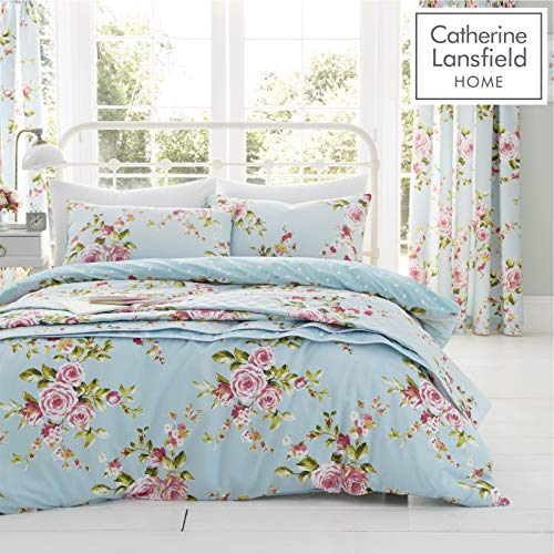 Catherine Lansfield Canterbury, Multi, Double Quilt -