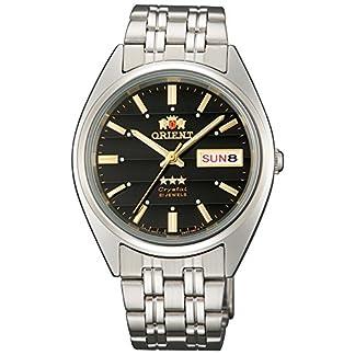 Orient Reloj Analógico para Unisex Adultos de Automático con Correa en Acero Inoxidable FAB0000DB9