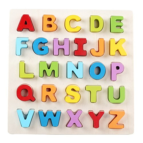 Home Soul Wooden Board Alphabet Puzzles For Kids