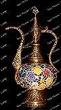 Mosaïque lampe de table, abat-jour, turc marocain lampe, lampe, lampe Pitcher, Aiguière lampe