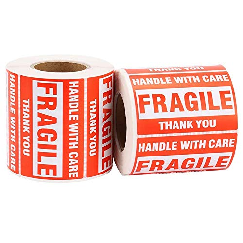 12 rotoli fragile Packaging tape Nastro adesivo resistente 9 Cube resistente e sicuro per grandi pacchi e scatole.