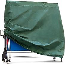 Purovi - Cubierta Protectora para Mesa de Ping-Pong, Tela Oxford, 165 x 70 x 185 cm, Resistente al Agua y a los Rayos UV