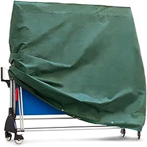 Purovi housse protectrice couverture pour table de ping pong en tissu oxford 165 x 70 x 185 - Housse table de ping pong ...