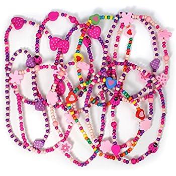 8f4181cacb1fd Lot de 5 Bracelet Dauphin Perle Enfant - Couleur Aléatoire - Cadeau ...