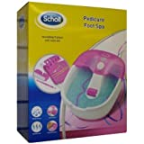 Scholl DRFB7132PUK1 Pedicure Foot Spa - Pink