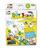 DIY Stempelset, Magic Polymer Clay, Kreativ Set, Modelliermasse, selbsthärtend an der Luft, Spielknete